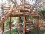 Tree house for the smaller children
