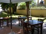GARDEN AND RESTAURANT TABLES INTHE BASEMENT