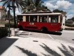 free trolley servicing Cityplace and downtown West Palm Beach