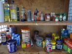 Help yourself to the goodies in the pantry