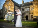 classic vw wedding transport packages start at £175