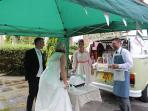 laughs all the way with our sweet shop, we are specialists in weddings