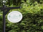 The Garden Cottage - Entrance Sign