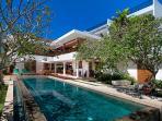 Villa Champa Pool and Front Facade