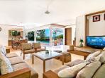 Villa Champa Lower Lounge Living