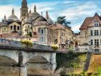 Picture postcard. The Medieval city of Perigueux 15 mins drive from house