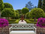 Immaculately maintained gardens