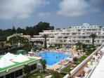 Clube Praia da Oura main pool and children pool