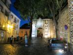 entrada no bairro do castelo