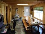 Dining Room with Woodstove