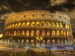 You can reach the Colosseo, the symbol of Rome, with one of the best walk, in 10 minutes