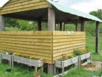The multi-purpose field shelter.