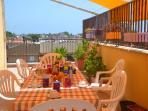 Colazione in terrazza!! Relax assicurato!!!