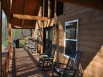 Take in Fresh Mountain Breezes on the Porch