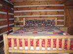 Lodge Main Floor Bedroom with King - Bedroom 1