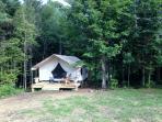 Sweet tent.