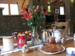 High tea at Chalet3Valleys, stay catered!