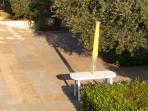 giardino davanti per godere di relax e tranquillità