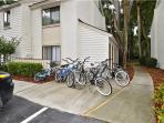 Bike racks close by