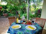 Enjoy an afternoon drink on the patio or have a barbeque while you listen to the birds sing.