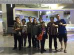 Send Johanes family to Senai Airport before flying back to Bandung, Indonesia
