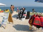 activities-sports on the beach - 800m