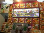 All delicious dishes of the famous kitchens.