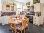 Dishwasher, washing machine, tumble, large fridge freezer, electric range cooker