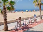 paseo, con carril bici