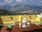 Beautiful view from terrace, dinning seating for 6 people.