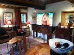 lounge TV corner