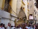Fiestas de Tudela: Procesión de Santa Ana, patrona de Tudela