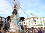 Tradiciones de Tudela: Bajada del Ángel, Semana Santa.
