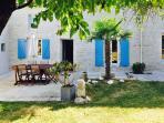 Family-friendly house near Royan w/ fenced garden, terrace & WiFi – close to beaches & golf