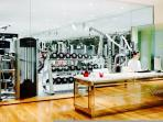 The Faena Gym. Lockers and robes included in your stay