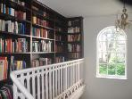 Eclectic library.