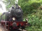 Die Hespertalbahn 3km entfernt