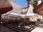 caffe bar in Trogir