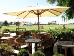 Beautiful Golf Clubhouse with outdoor dining facilities