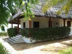 The Villa enjoy the warm breeze from the patio of the villa with swahili beds as you enjoy a drink
