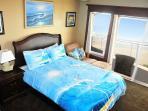 Master bedroom with ocean views.