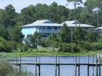 Situated on Oyster Lake in Dune Allen Beach