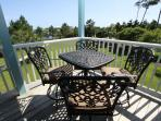 Outdoor Dining on Second Floor Porch