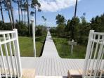 Boardwalk from Pool to Dock
