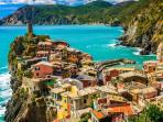 Beautiful Cinque Terre village just 40 mins drive from the property