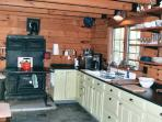 Country Kitchen and yes it does also have a Modern Gas Stove