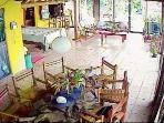 Living Space and dinning Table Jodokus Inn Jun 2015