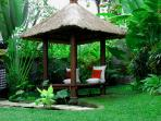Your own garden bale (pavilion) in our priavte gardens
