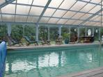 Private indoor heated swimming pool (available April - Oct)
