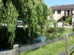 Pond and Pavillion